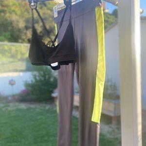 Juicy Couture leggings and bra set